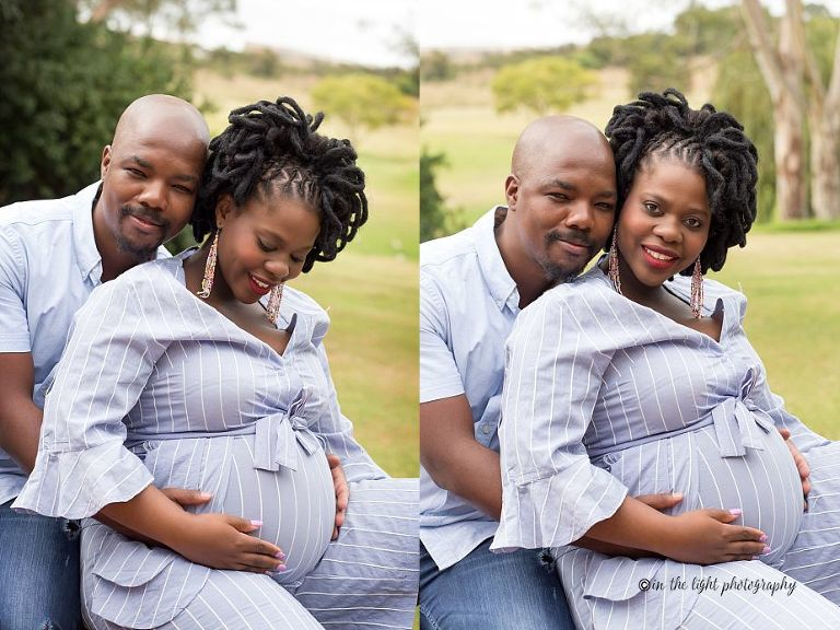 outdoor maternity session pretoria