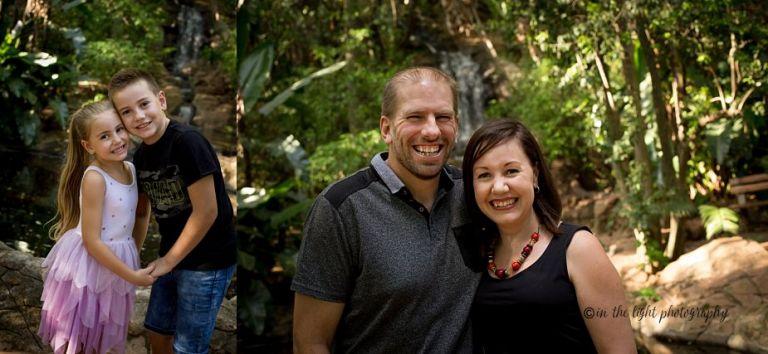 Family photos botanical gardens